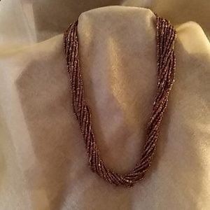 Silpada Seed Bead Necklace